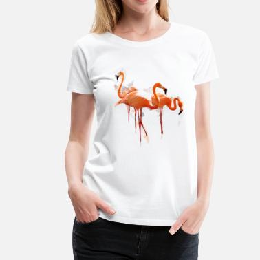 Flamingo flamingo1 - Women's Premium T-Shirt