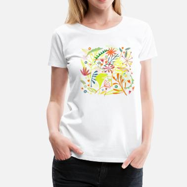 Nature Collection Tropisch - Vrouwen premium T-shirt
