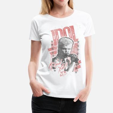 Idol Rebels Billy Idol - Frauen Premium T-Shirt