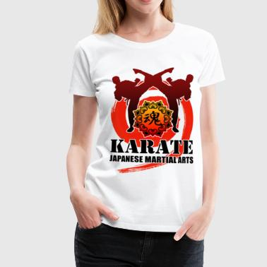 karate - Women's Premium T-Shirt