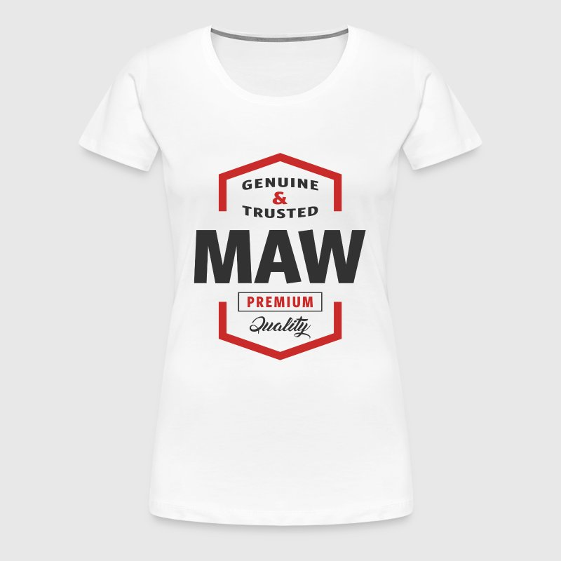 Genuine Maw Tees - Women's Premium T-Shirt