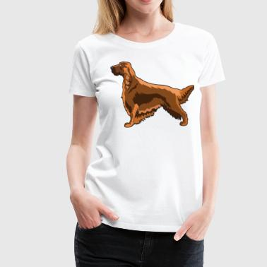 Irish Setter - Women's Premium T-Shirt