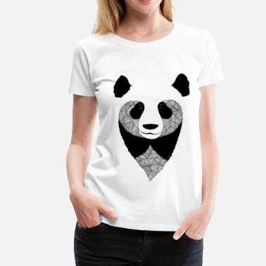 Animal Collection Panda design - Dame premium T-shirt
