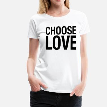 George Michael CHOOSE LOVE - Frauen Premium T-Shirt