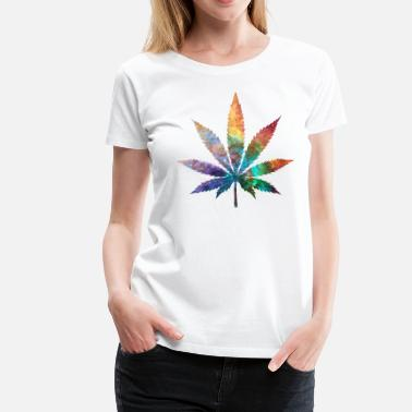Weed Cosmic Chronic - Women's Premium T-Shirt