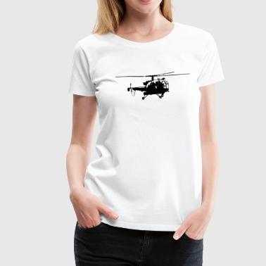 Helicopter - T-shirt Premium Femme