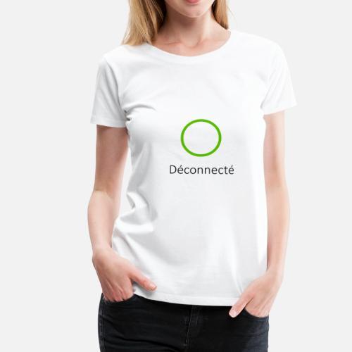 T FemmeSpreadshirt Skype Déconnecté Premium Shirt qVMGpUzS