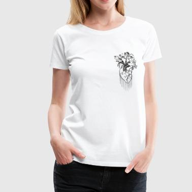 Blooming Love - Frauen Premium T-Shirt