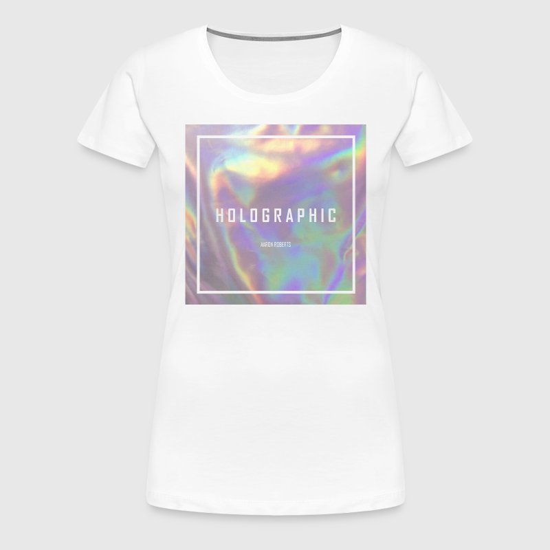 HOLOGRAPHIC - Women's Premium T-Shirt
