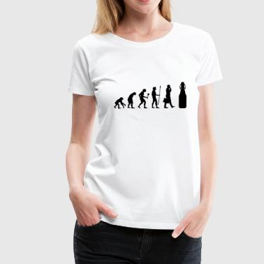 Alkohol - Evolution Bier - Frauen Premium T-Shirt