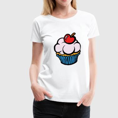 muffin - Frauen Premium T-Shirt