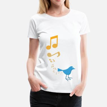 Furz Vogel Fart Bird!  - Frauen Premium T-Shirt