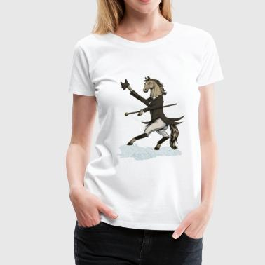 Horse Dressage Dancer - Frauen Premium T-Shirt