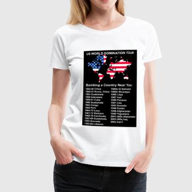 US World Domination Tour - Frauen Premium T-Shirt