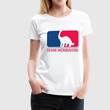 Team Herbivore vegetarian vegan  - Women's Premium T-Shirt