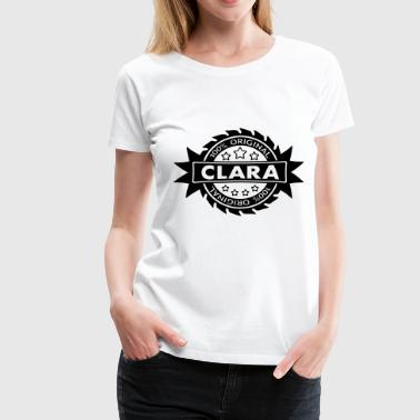 CLARA star original 1c - Women's Premium T-Shirt