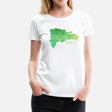 Dominikanische Republik Dominican Republic - Frauen Premium T-Shirt
