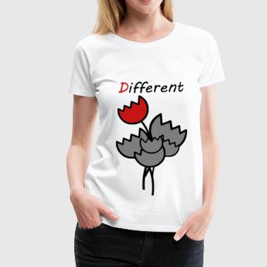 Different - Frauen Premium T-Shirt