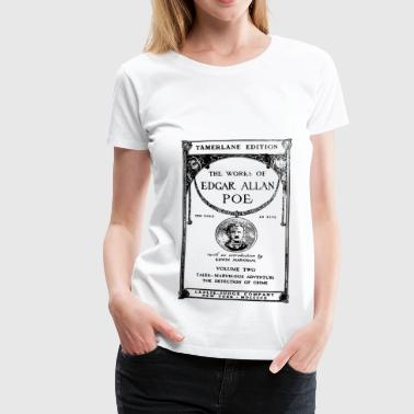 poe book cover - Vrouwen Premium T-shirt