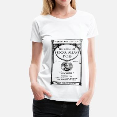 1910 poe book cover - Vrouwen Premium T-shirt