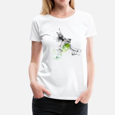 Animal Collection bird - Dame premium T-shirt