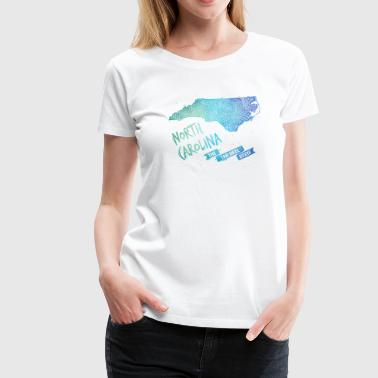 North Carolina - Frauen Premium T-Shirt