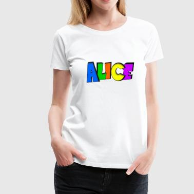 Alice - Frauen Premium T-Shirt