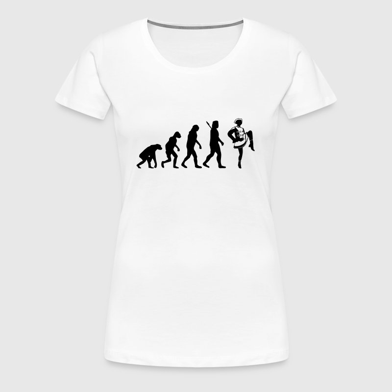 Evolution Funkenmarie - Frauen Premium T-Shirt