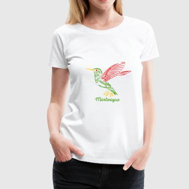 Martinique colibri_Martinique - T-shirt Premium Femme