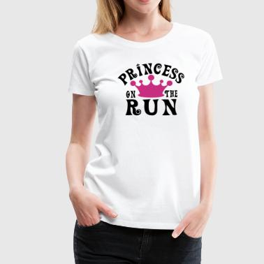Princess on the run - Women's Premium T-Shirt