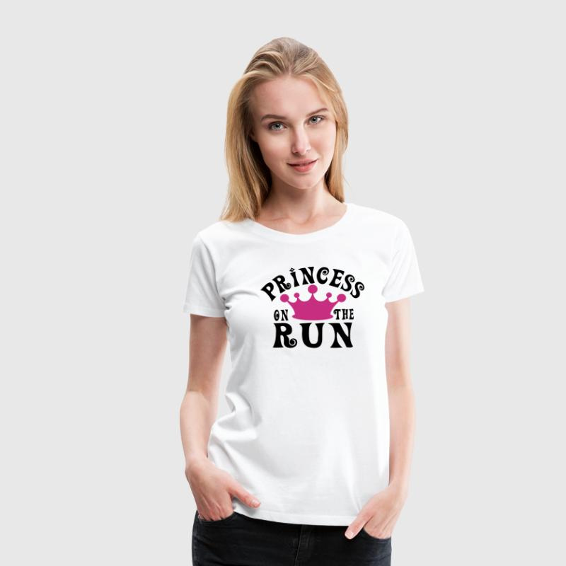 Princess on the run - Frauen Premium T-Shirt