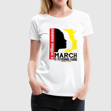 Women's March St. Petersburg Florida - Women's Premium T-Shirt