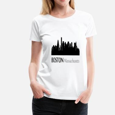 Massachusetts Boston Massachusetts - Women's Premium T-Shirt