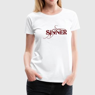 SINNER T SHIRT, SINNER / SAINT  - Women's Premium T-Shirt