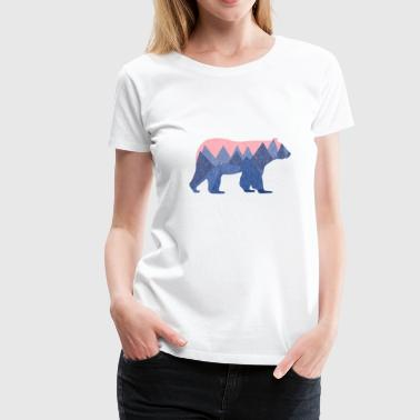 mountain bear - Women's Premium T-Shirt