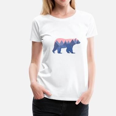 mountain bear - Frauen Premium T-Shirt