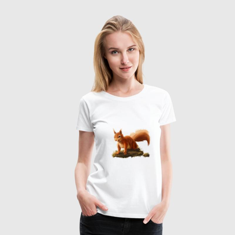 Little Squirrel - Women's Premium T-Shirt