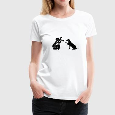 Photographer journalist Hund - Women's Premium T-Shirt
