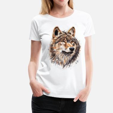 T Shirts Loup A Commander En Ligne Spreadshirt