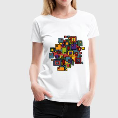 city map 2 - Frauen Premium T-Shirt