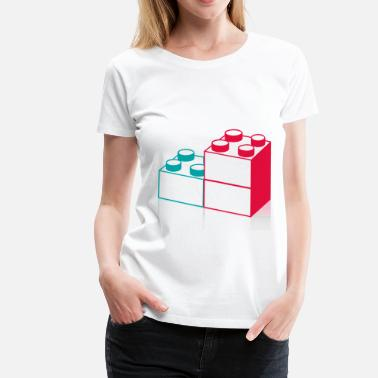 Block Block - Women's Premium T-Shirt