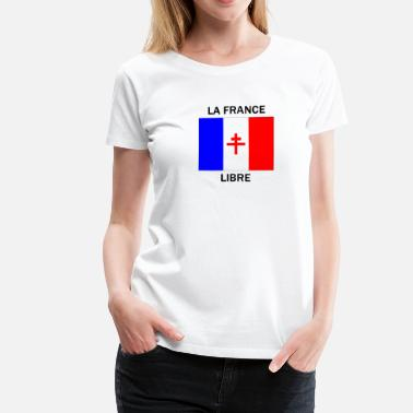 Seconde La France libre - T-shirt Premium Femme