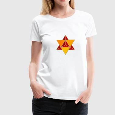 MerKaBa orange/rot - Frauen Premium T-Shirt