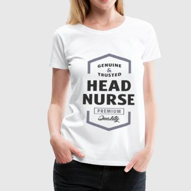 Head Nurse Logo Tees - Women's Premium T-Shirt