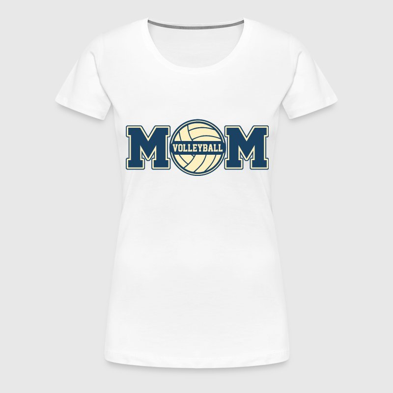Volleyball Mom - Frauen Premium T-Shirt