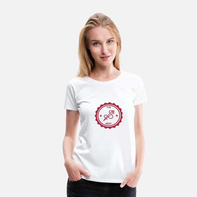 Nähen Schneider Couture Fashion Frauen Premium T Shirt