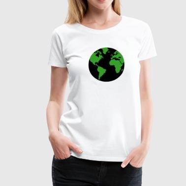 Earth - Erde - Frauen Premium T-Shirt