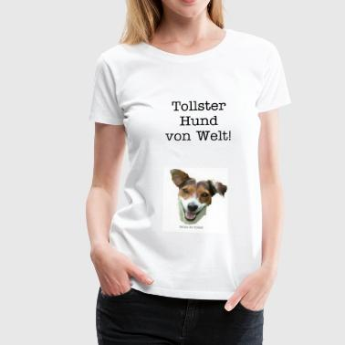 DOGs IN TOWN Jack - Russel - Frauen Premium T-Shirt