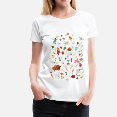 Flowers Liese - Women's Premium T-Shirt