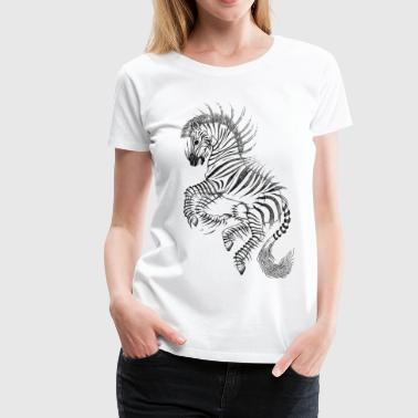 Stripes - Frauen Premium T-Shirt